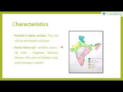 Unacademy Geography Lectures for IAS:  Soil Types and Their Distribution in India Part 1