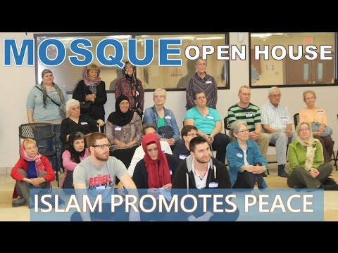 Neighbors Learn About Islam at the Mosque Open House at ISNS - Oct 29 2016