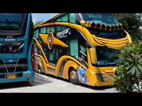 Buses in Thailand 2015