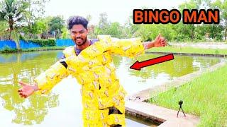 Can i swim with 100 Bingo's | BINGO MAN