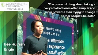 The Secret to Making People Care | Bee Hui Yeh | WCS 2018 Talk