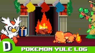 Pokémon Yule Log  (1 HOUR LOOP)