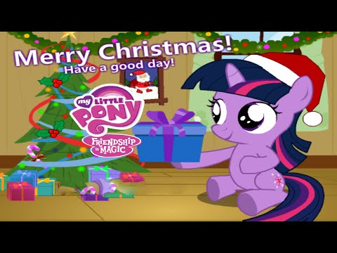 My Little Pony Baby Twilight Christmas Day Game: Christmas is coming, Baby Twilight Sparkle wanted to decorate hers room with some Christmas elements. Let's draw a Santa picture together with her, hanging the picture on wall, and them let's decorating a Christmas tree.  Really very happy. What Christmas gift the Twilight Sparkle would get? Let's join the game, spent a wonderful Christmas Day with her.  Please SUBSCRIBE to see when are posted NEW Toons Universe Video!