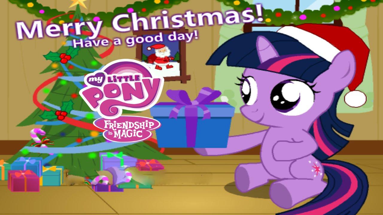 My Little Pony Christmas.My Little Pony Baby Twilight Christmas Day Game