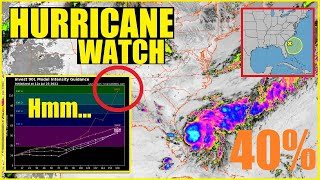 Hurricane WATCH! INVEST 90L (FRED) Is an ODD Looking Storm!