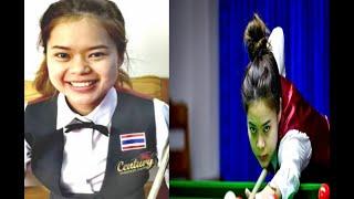ใบพัด ศรีราชา รอบชิงชนะเลิศ สนุกเกอร์หญิงชิงแชมป์ประเทศไทย