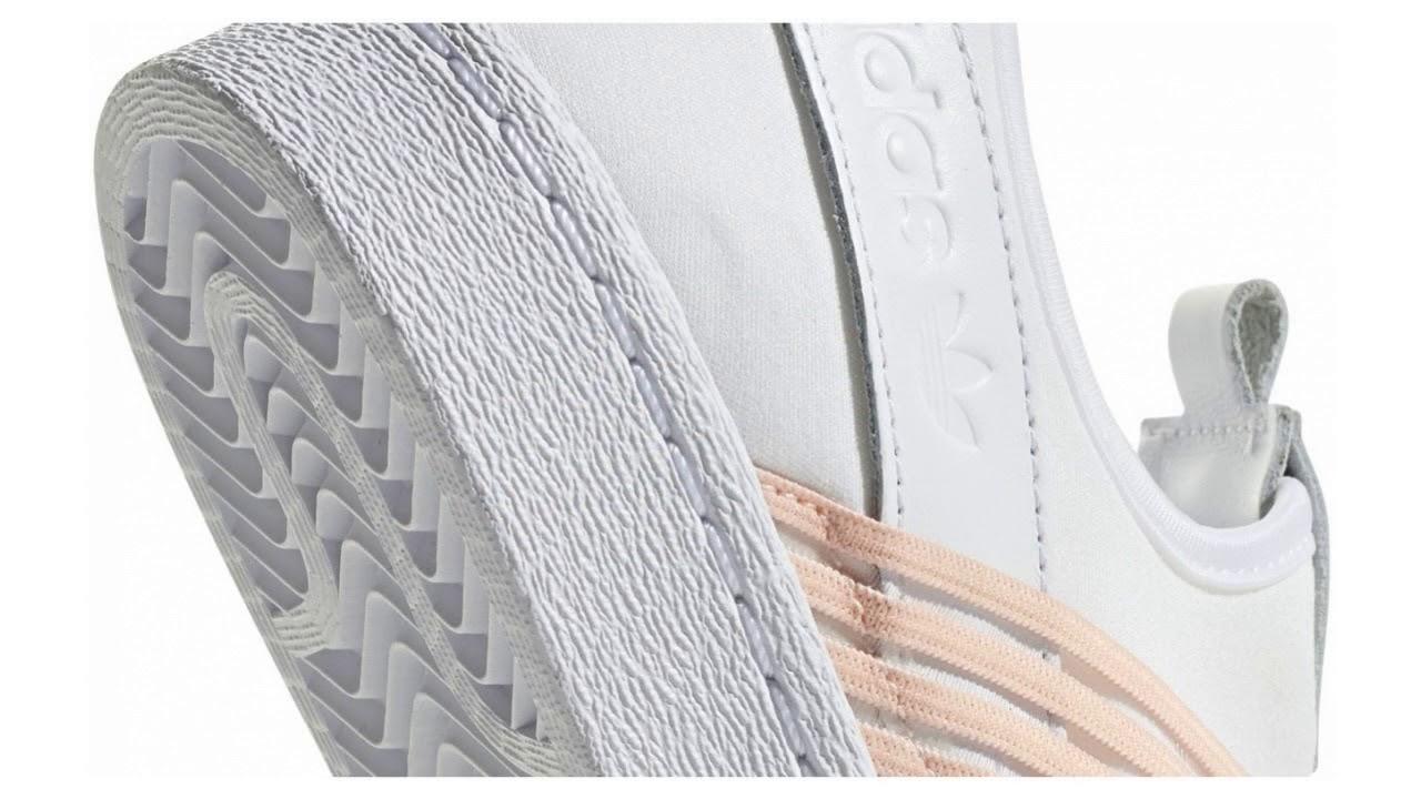 Adidas Superstar Slip On bílé D96704