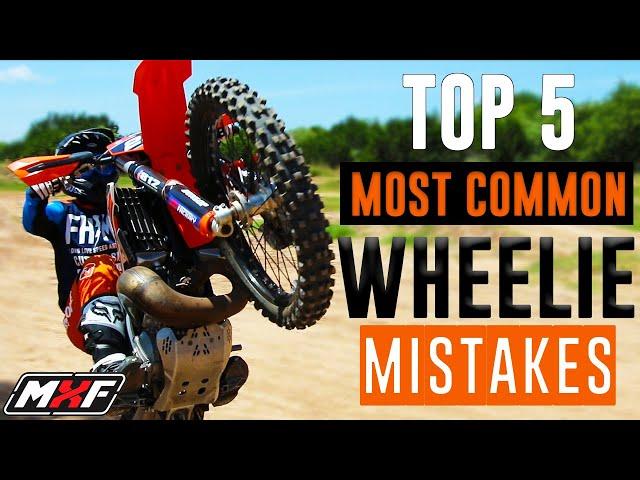 Top 5 Most Common Dirt Bike Wheelie Mistakes