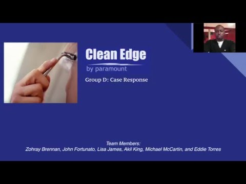 Clean Edge by Paramount Case Study Response