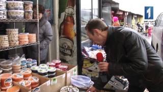 """Рынок """"Черноморский"""" и """"Осетрина запеченная""""."""