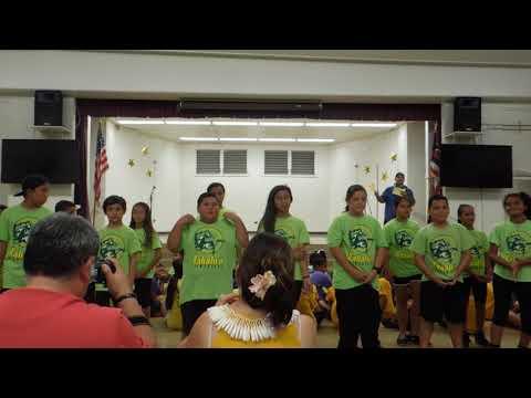 Kahaluu and Ahuimanu Elementary Schools 5th Grader's Make It Possible