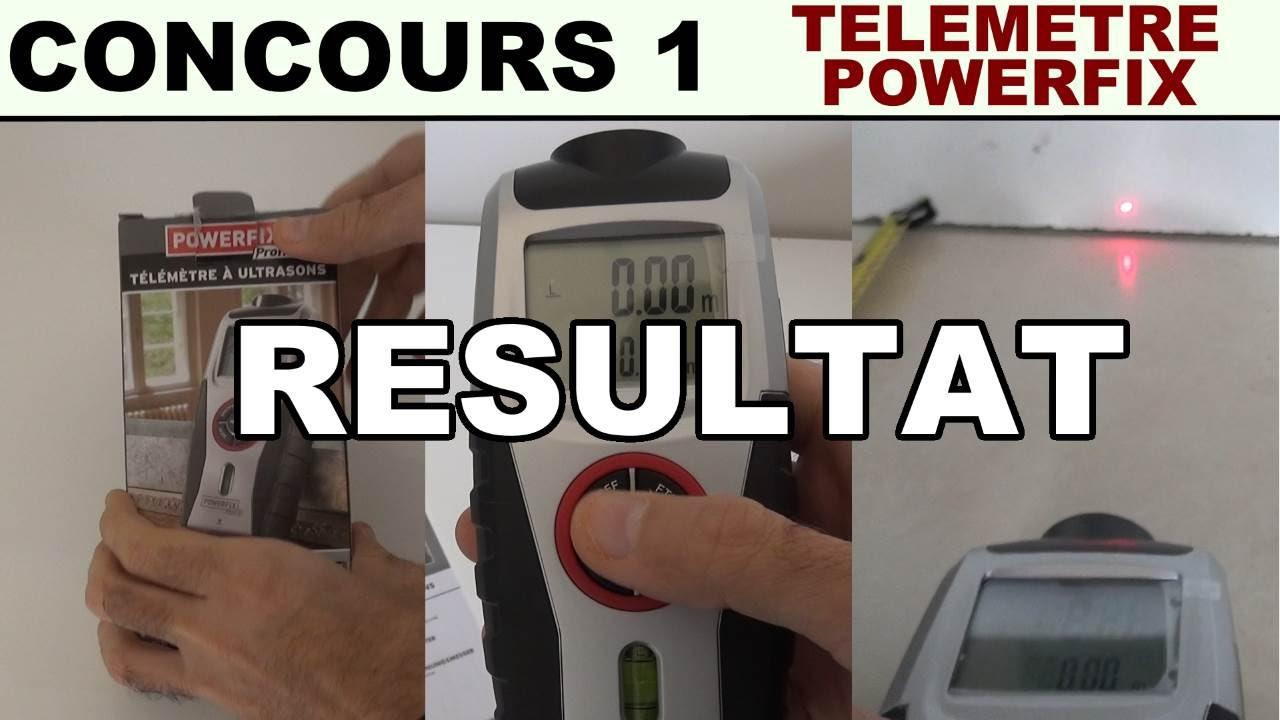 Concours 1 Résultat Du Tirage 1 Télémetre Powerfix