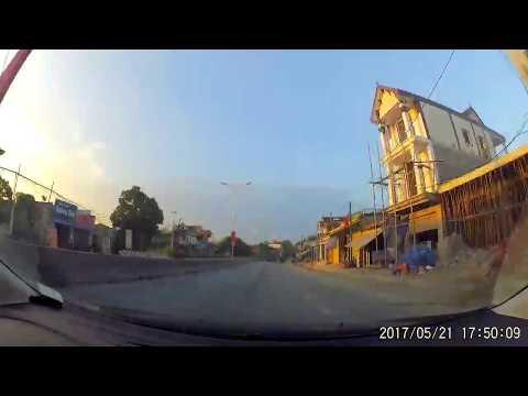 camera hành trình Cửa Lò - Hà Nội - quay nhanh 8x