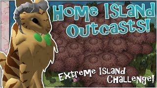 Outcasts of Home Island?! 🌿 Niche: Home Outcast! Extreme Challenge! • #4