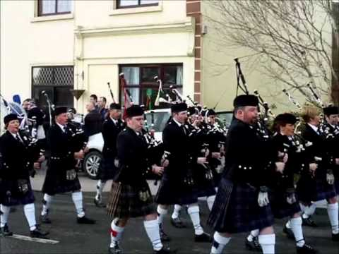 Kiltimagh Ireland Parade