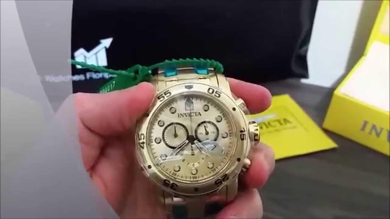 7751ce0bb1d Relógio Invicta 0074 Pro Diver Scuba 100% Original - YouTube