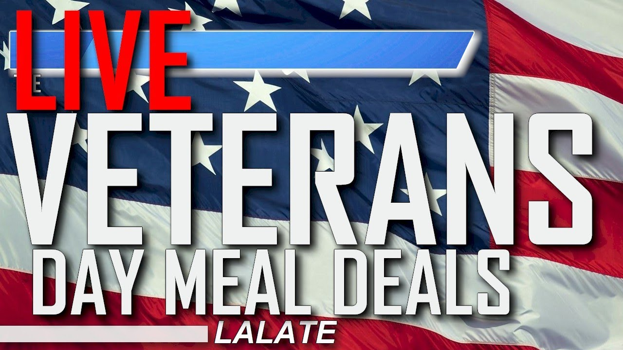Veterans Day 2020: Best deals, freebies for veterans today; Where ...