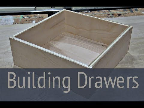 How to Build Drawers - Desk Build Part 2