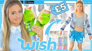 Trying On £5 Clothing From Wish For A Week FAIL