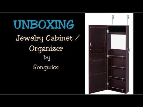 Unboxing Jewelry Armoire & Burlington Coat Factory jewelry