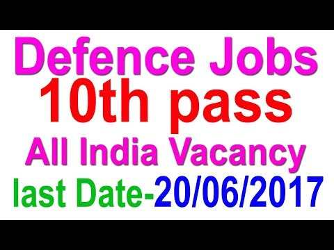 10th Pass Latest Defence Govt Job | Health Organisation | All India Vacancy