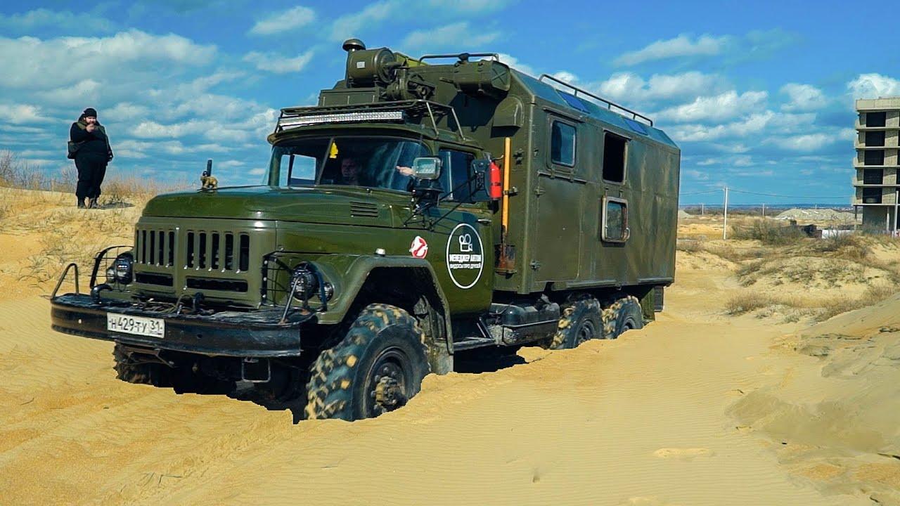 Нашли редкий ЗИЛ 131 , а внутри... ГЕЛИК в мире грузовиков