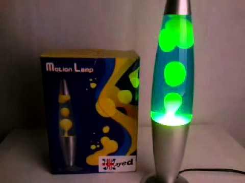 Yellow Blue Lava Lamp - YouTube