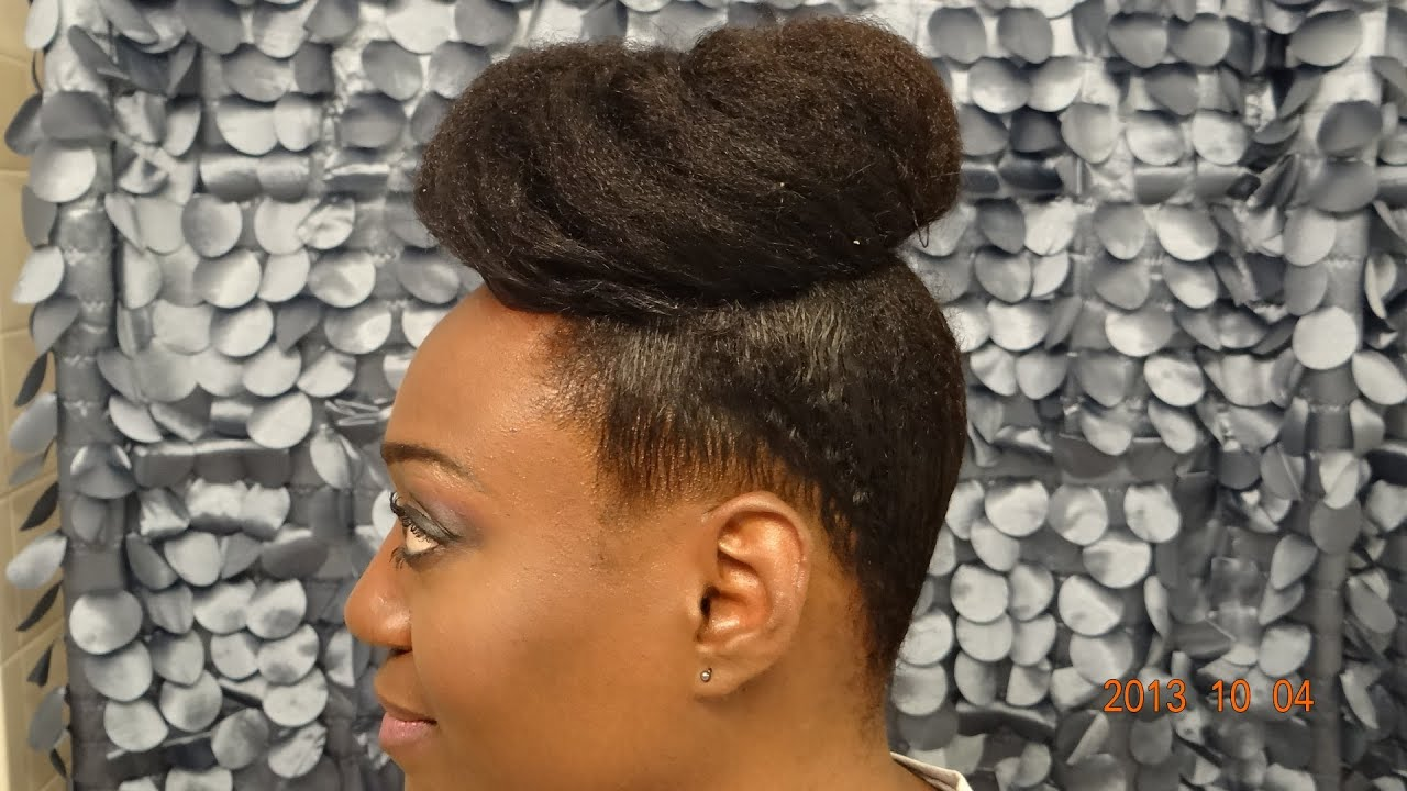 Mzblackpearlz Pineapple Bun Tutorial YouTube