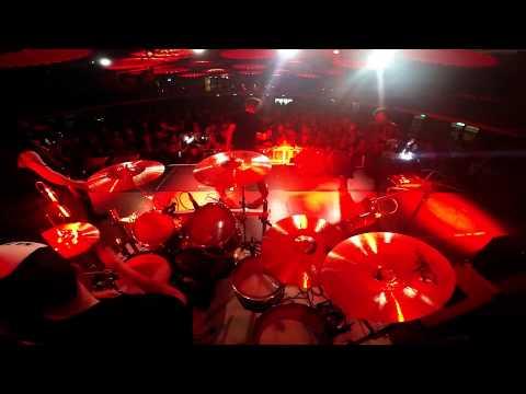 THE BLACK SWAMP - Live set drum cam - Eatons Hill Hotel - Brisbane