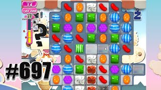 Candy Crush Saga Level 697 | Complete Level No Booster