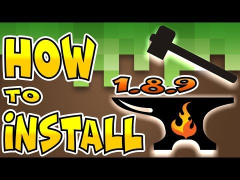 How to Download and Install FORGE and MODS ★ MINECRAFT LAUNCHER 1.8.9