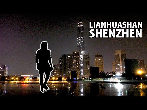 midnight hike to Lianhuashan (Lotus Hill) in Shenzhen | vlog 046 | Joshua Vergara