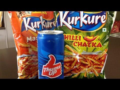 Kurkure & Thums Up -  Taste Test