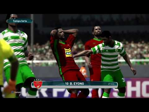 PS4 PES 2017 Gameplay Coton Sport vs Canon Yaounde HD