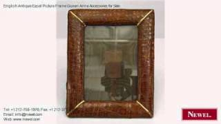 English Antique Easel Picture Frame Queen Anne Accessories