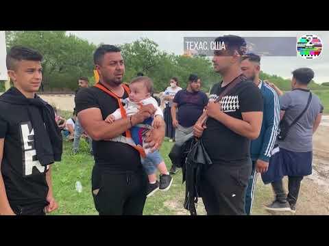 Среди мигрантов, переходящих границу из Мексики  уже люди из Румынии и Армении