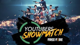TORNEO OFICIAL DE YOUTUBERS - YOUTUBER SHOWMATCH - FREE FIRE