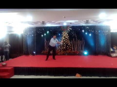 Dance performance by Ravi Shukla on saurabh mishra sangeet samaroh on 15.11.2016 evening at tulli in
