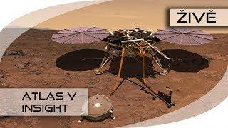 ŽIVĚ: Atlas V (InSight)