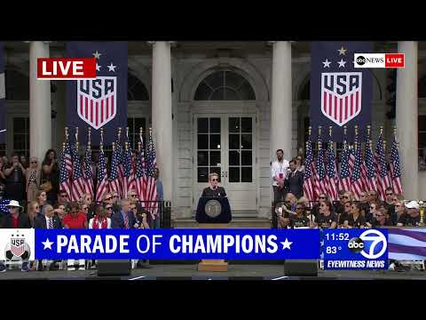 WATCH LIVE - Women's World Cup 2019: US National team championship parade in NYC | ABC News