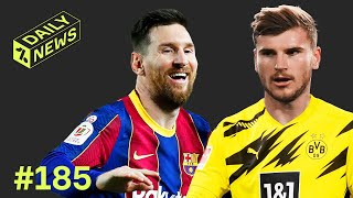Messi MAGIC for Barcelona on record night + Erling Haaland to swap with Timo Werner?!