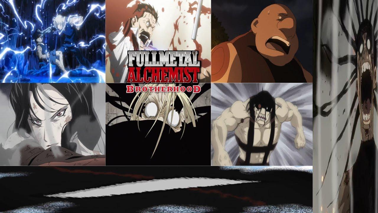 Full metal Alchemist Brotherhood - Homunculus deaths scenes Japanese - YouTube
