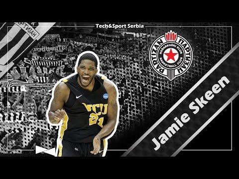 Jamie Skeen - Analiza igre   KK Partizan 2017/18