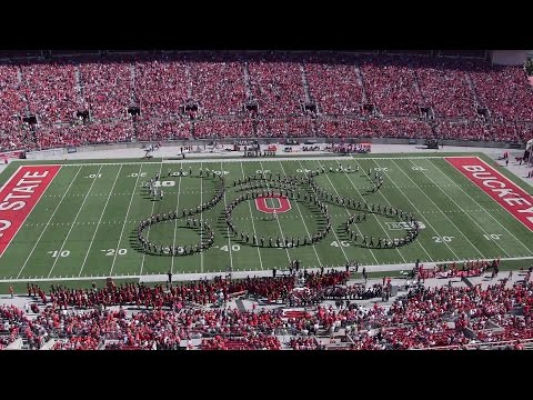 The Ohio State Marching Band Oct. 10 halftime show: Jazz Memories