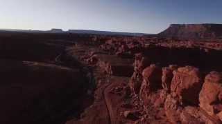Indian Creek Utah via Drone
