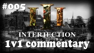 AOE3 *EPIC 1v1* Closest Game Ever? Expert Commentary #5 with Interjection! MusketJr vs DarwinGeovany