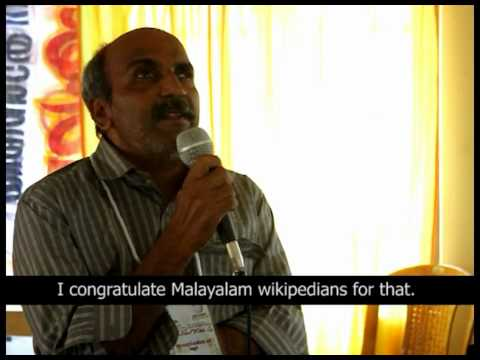 Onscreen Reading of Malayalam Wikipedia for Visually Challenged People