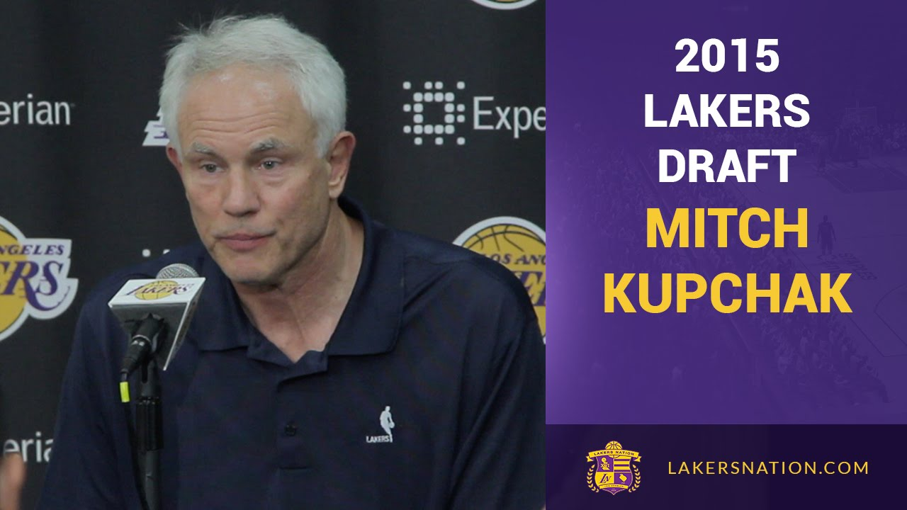 2015 Lakers Draft Mitch Kupchak Choosing D Angelo Russell