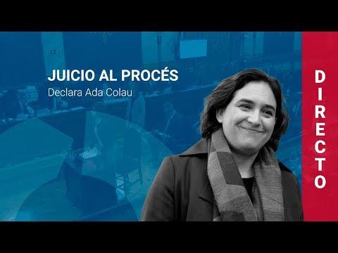 Ada Colau declara en el juicio al procés (28/02/19, COMPLETO)