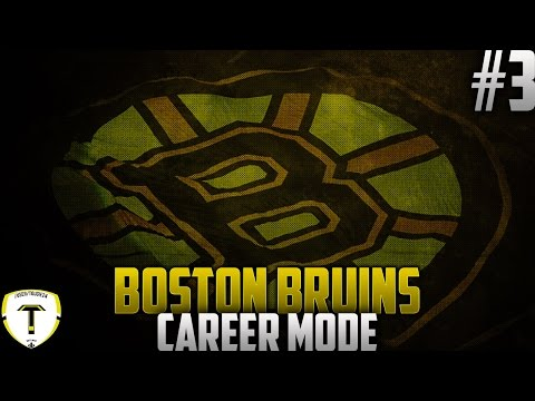 "NHL 16 - Boston Bruins GM Mode #3 ""Early Struggles"""